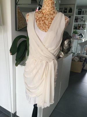 Lipsy Kleid Creme weiß super Zustand