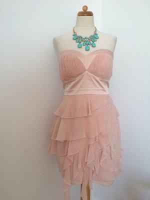 Lipsy Kleid festlich Farbe Puder Sitz 14 •NEU