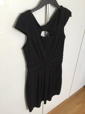 Lipsy Kleid schwarz Größe M/L süß Schleife