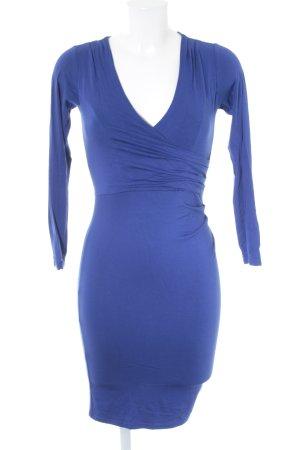 Lipsy Langarmkleid blau schlichter Stil