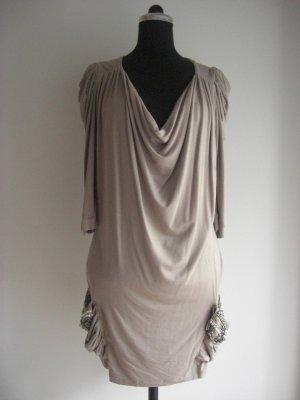 LIPSY LONDON Jerseykleid mit aufwenigem Perlenbesatz auf den Taschen