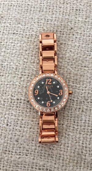 Lipsy London Uhr Rosegold Rose Gold Strass