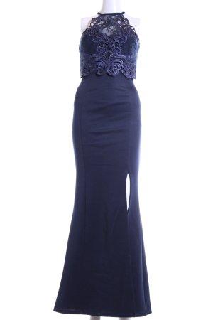 Lipsy Neckholderkleid blau Elegant