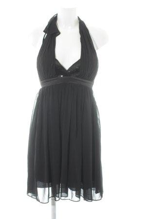 Lipsy Vestido de cuello Halter negro estilo fiesta