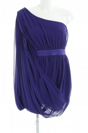 Lipsy One-Shoulder-Kleid dunkelviolett Elegant