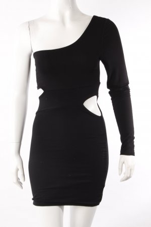 Lipsy One Shoulder Kleid schwarz