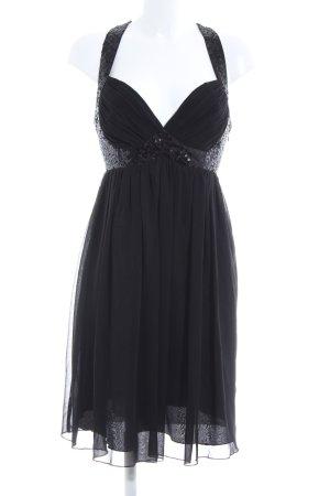 Lipsy Pailettenkleid schwarz Elegant