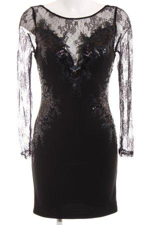 Lipsy Abito con paillettes nero elegante