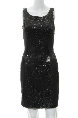 Lipsy Vestido de lentejuelas negro estilo fiesta