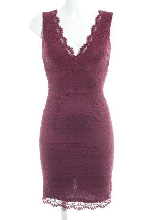 Lipsy Spitzenkleid purpur Elegant