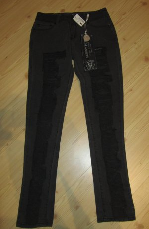 LIPSY: Super Riped-Skinny Jeans, Gr. UK 8, NEU