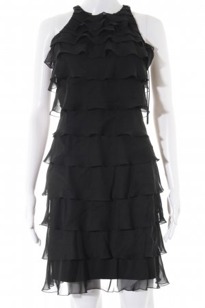 Lipsy Flounce Dress black elegant
