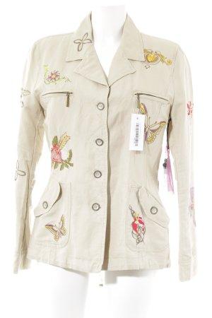 Liqu Kurz-Blazer beige Casual-Look
