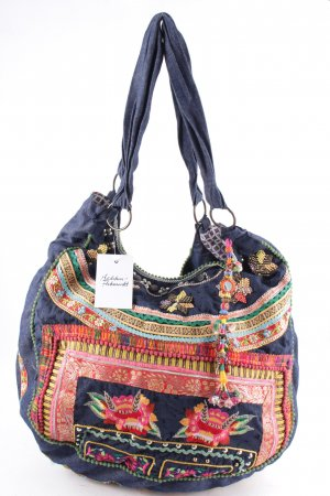 Lis du Perou Canvas Bag multicolored hippie style