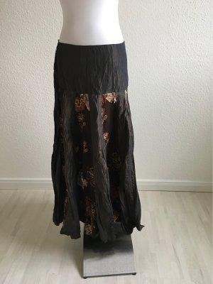 Lisa Campione Midi Skirt multicolored