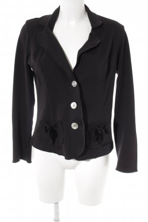 Lisa Campione Sweat Blazer black elegant