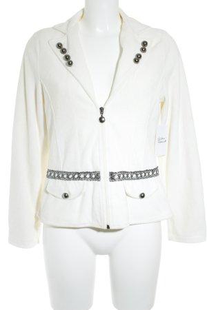 Lisa Campione Sweatblazer wollweiß Street-Fashion-Look