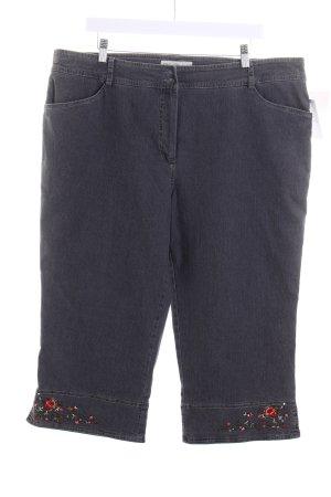 Lisa's Landhaus 3/4 Jeans grau Casual-Look