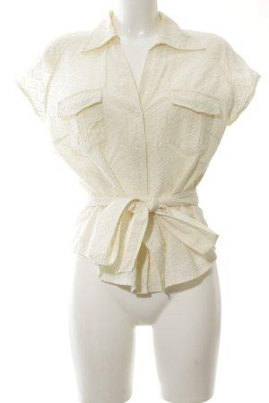 Lisa Steuten Hemd-Bluse blassgelb Casual-Look