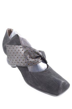 Lisa Tucci Mary Jane Pumps black spot pattern classic style
