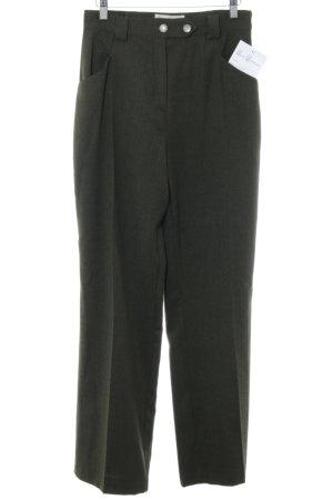 Lisas Landhaus Woolen Trousers black business style