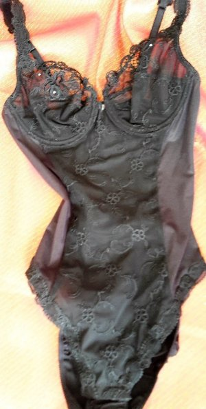 Conjunto de lencería negro