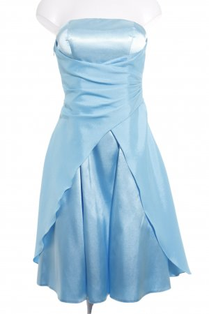 Lissa Robe bustier bleu clair élégant
