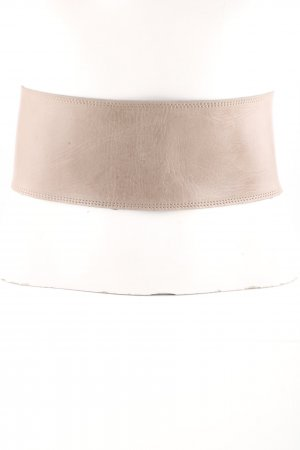 List Leather Belt nude casual look