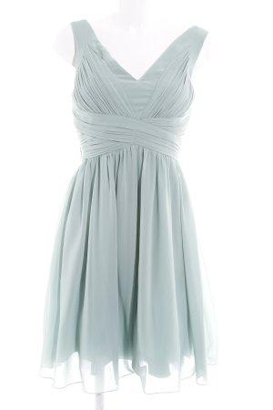 Little Mistress A-Linien Kleid graugrün Paris-Look