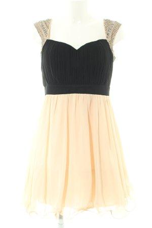 Little Mistress Abendkleid schwarz-creme Elegant