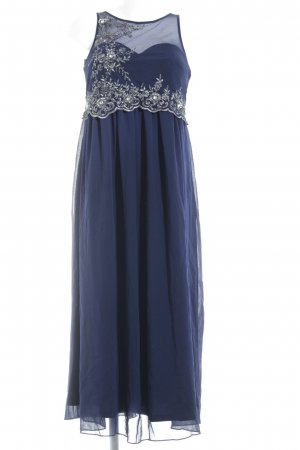 Little Mistress Abendkleid dunkelblau-silberfarben Elegant