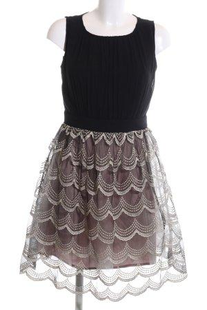 Little Mistress Abendkleid schwarz-lila Elegant