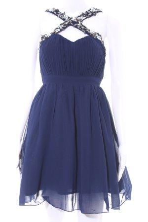 Little Mistress Ballkleid dunkelblau-silberfarben Elegant
