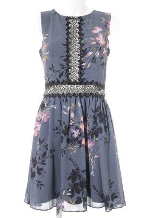 Little Mistress Blouse Dress floral pattern elegant