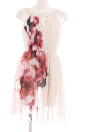 Little Mistress Chiffonkleid florales Muster Elegant