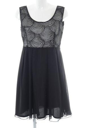Little Mistress Cocktailkleid schwarz-weiß Elegant