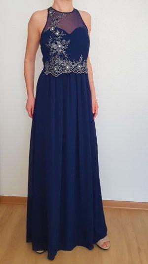 Little Mistress Kleid Maxi dress langes Kleid Gr. 38