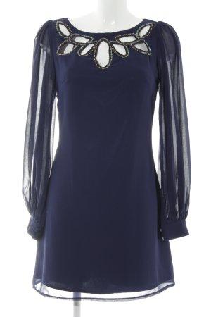 Little Mistress Langarmkleid blau Elegant