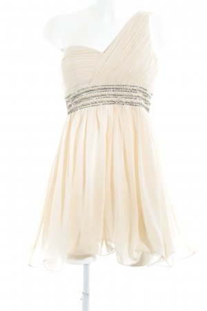 Little Mistress One Shoulder Dress pale yellow party style