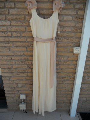 Little Mistress Overall Jumpsuit Elegant Gr.38 Beige Neu