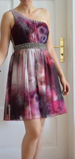 Little Mistress schickes Abendkleid, Blumenprint