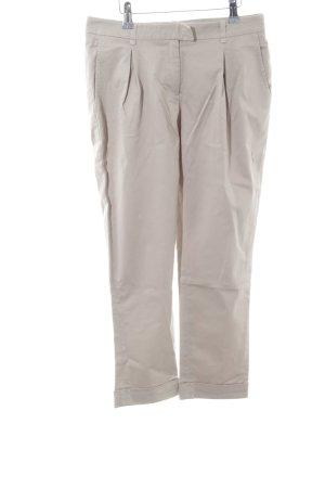 Liu jeans Pantalone Capri bianco sporco stile casual