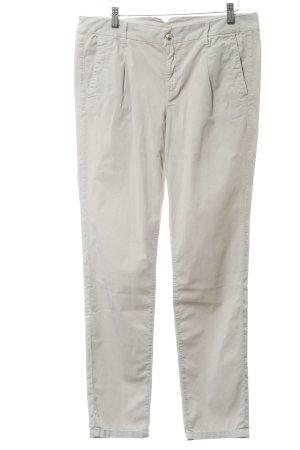 Liu jeans Pantalon taille basse crème style classique