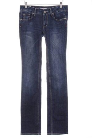 Liu jeans Jeans taille basse bleu pâle-bleu foncé style décontracté