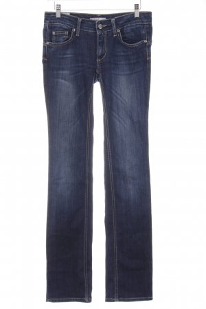 Liu jeans Hüftjeans blassblau-dunkelblau Casual-Look