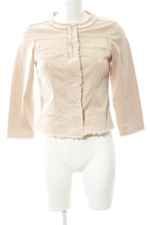 Liu jeans Giacca denim rosa antico stile professionale