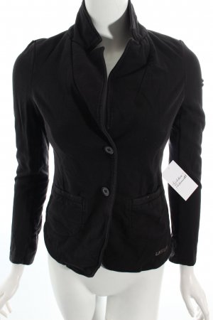 Liu jeans Sweatjacke schwarz Street-Fashion-Look