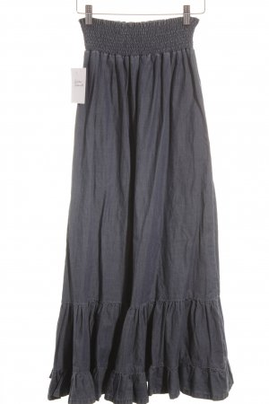 Liu jeans Volantrock dunkelblau Urban-Look