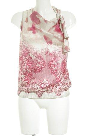Liu jo ärmellose Bluse florales Muster schlichter Stil