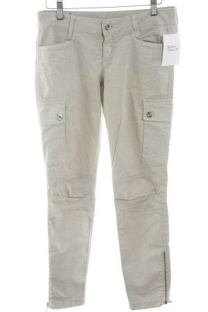 Liu jo Pantalone cargo beige chiaro stile casual